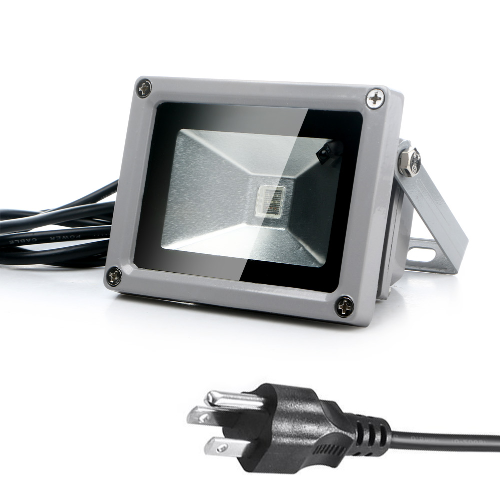 Outdoor Led Light With Remote: New Outdoor 10W RGB Waterproof LED Flood Light Landscape