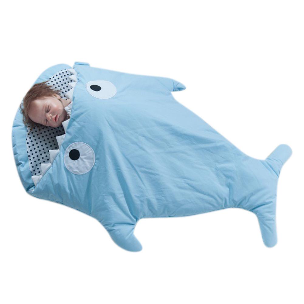 neu mehrzweck baby cartoon hai hinuntergef hrt windeln decke wickeln schlafsack ebay. Black Bedroom Furniture Sets. Home Design Ideas