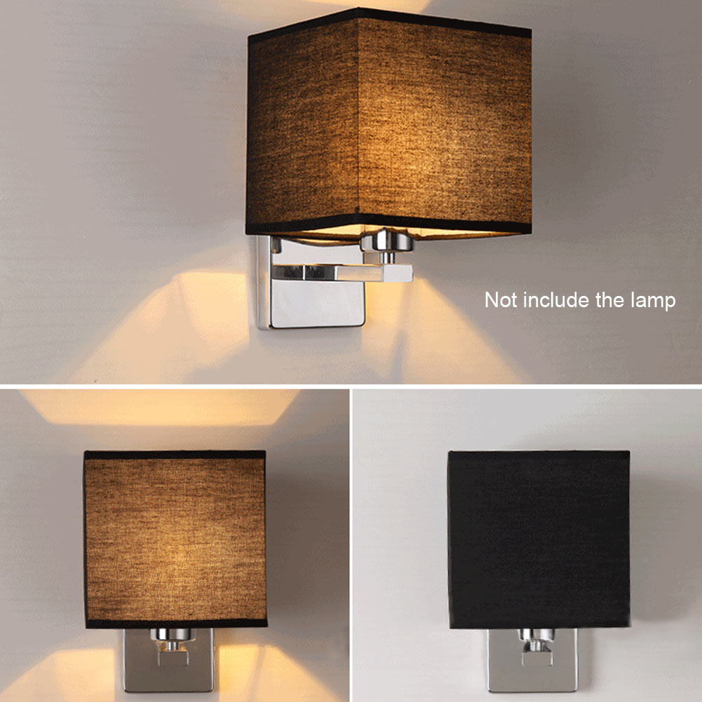 Contemporary Bedroom Wall Lights: Modern LED Cloth Wall Lamp Sconce Light Hallway Bedroom