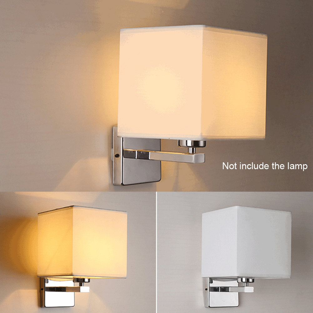 Bedroom Lights: LED Cloth Wall Lamp Sconce Light For Hotel Reading Bedroom