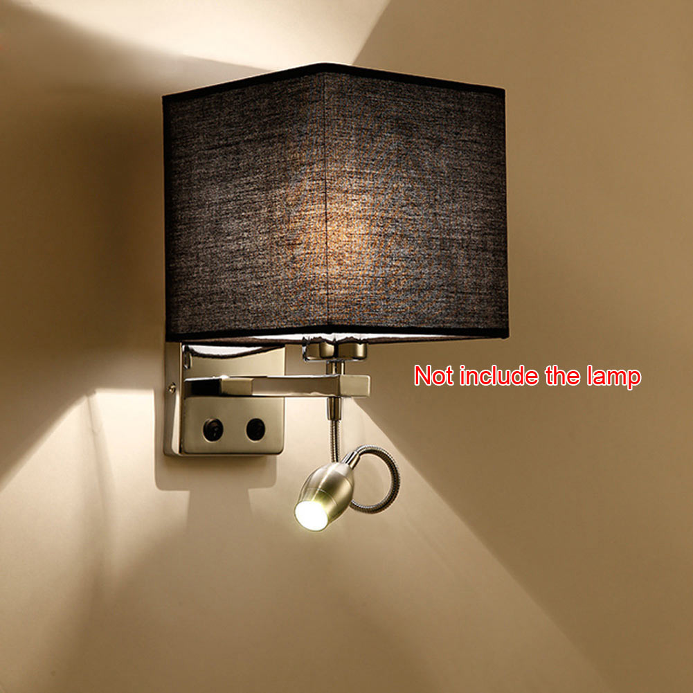 Newly Modern LED Cloth Wall Lamp Wall Sconce Light Hallway