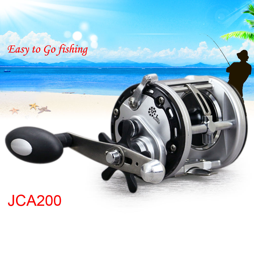 12 1bb ball bearing fishing spinning trolling surf bait for Surf fishing reel