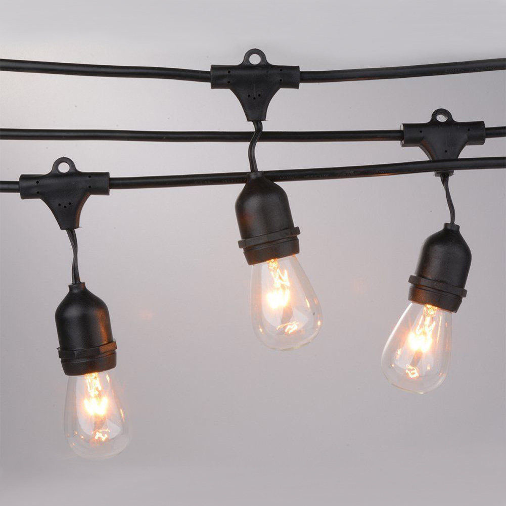 outdoor waterproof led commercial string light for wedding. Black Bedroom Furniture Sets. Home Design Ideas