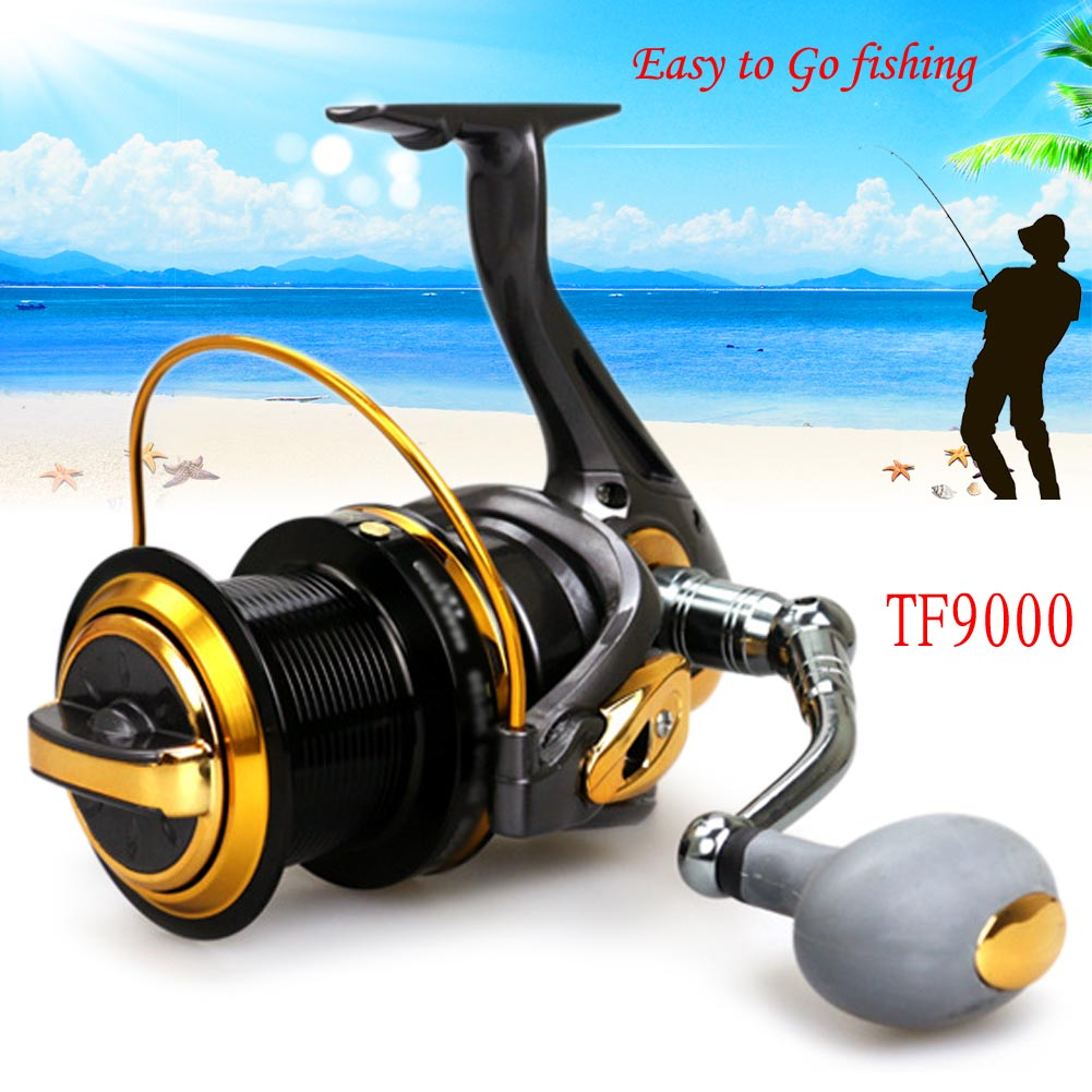 13BB Metal Left/Right Interchangeable Spinning Fishing Reel Wheel High Speed