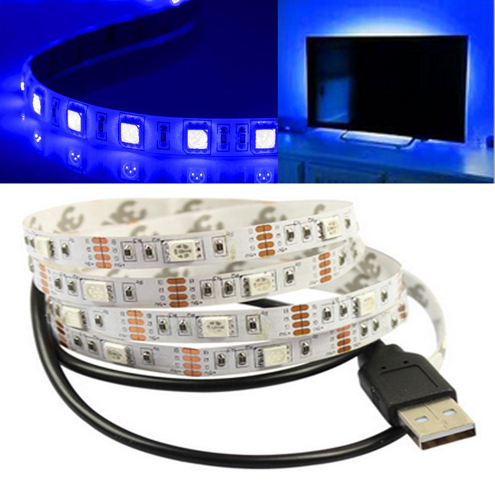 Led Home Theater Tv Back Light Bias Accent Lighting Kit: 5V Bias USB Power Lamp For HDTV Computer TV Backlighting