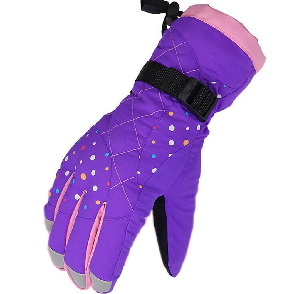 Women Windproof Waterproof Thicken Winter Warm Ski Snow