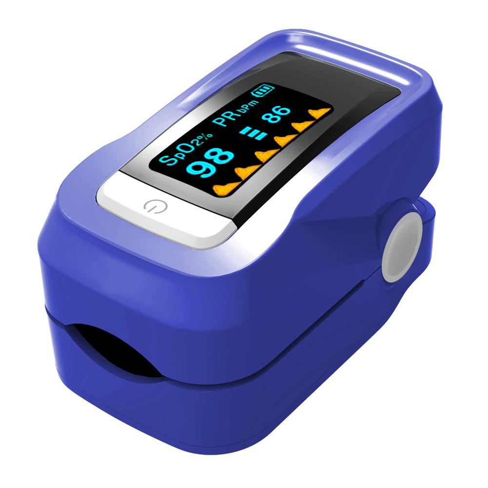 portable fingertip blood oxygen spo2 pulse heart rate monitor oximeter w bag. Black Bedroom Furniture Sets. Home Design Ideas