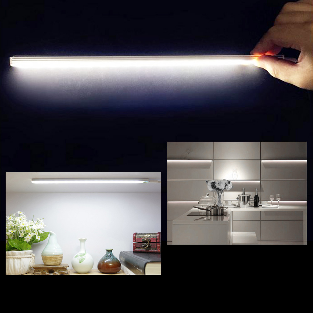 21led touch sensor licht usb schrank schrank lampe dimmerable dc5v 6w 450lm ebay. Black Bedroom Furniture Sets. Home Design Ideas