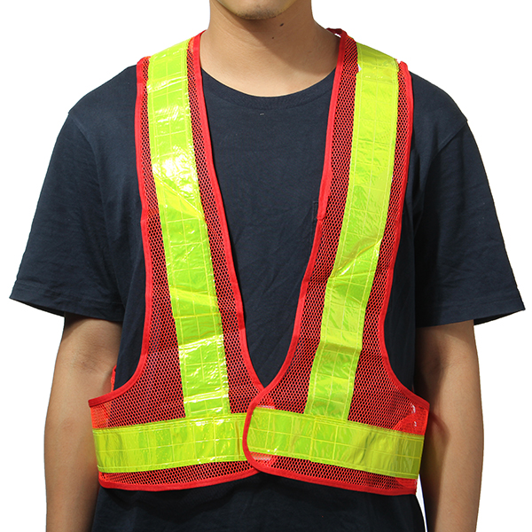 Reflective Vest High Visibility Warning Safety Gear