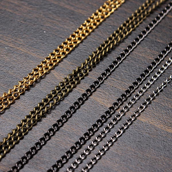 5m Metal Cable Open Link Iron Chain Necklace Findings DIY Jewelry