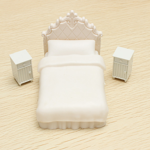Architecture Model Single Bed Set Models For Indoor Scene Layout