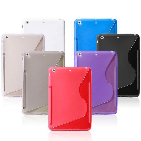 Fsahion And Brief S Grain TPU Protective Case Cover For iPad Mini 2