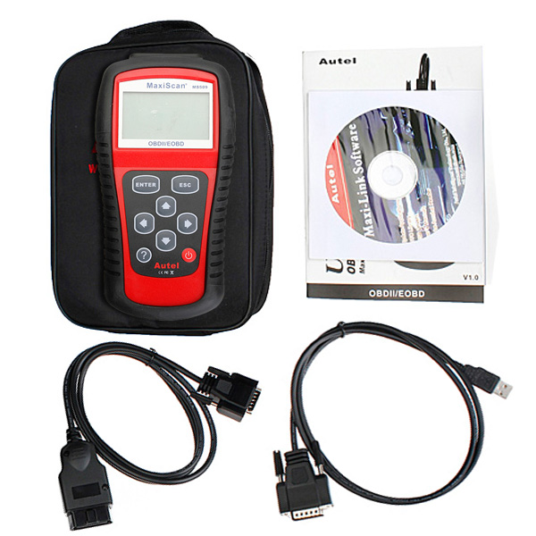 EOBD OBDII Scanner Diagnostic OBD2 Live Data Code Reader