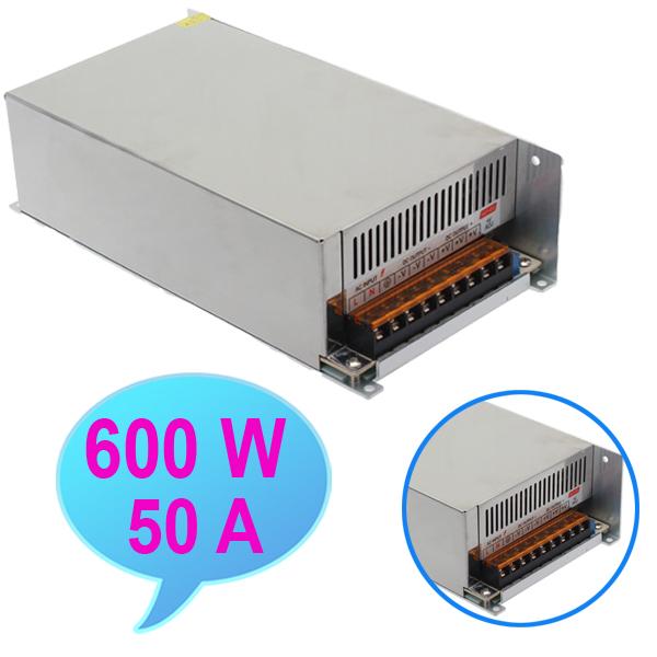 LED Power Supply 600W DC12V 50A Power Supply Transformer