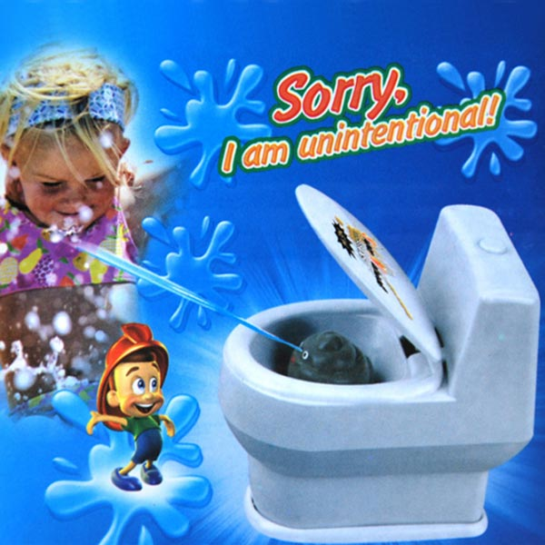Funny Gift Water Spray Small Toilet