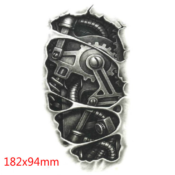 3D Machine Waterproof Temporary Transfer Tattoo Sticker