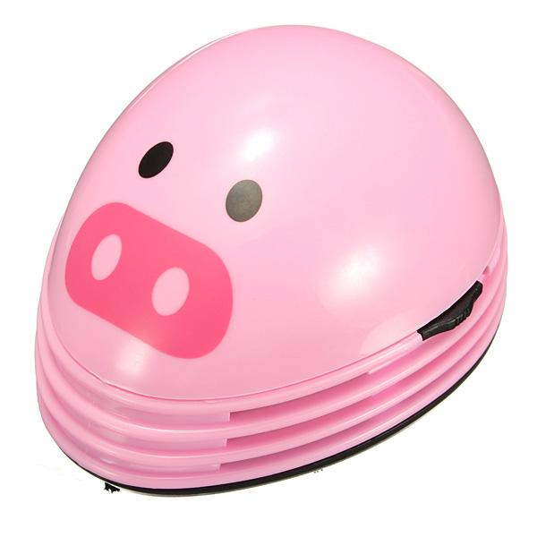 Mini Pig Desktop Desk Keyboard Vacuum Cleaner