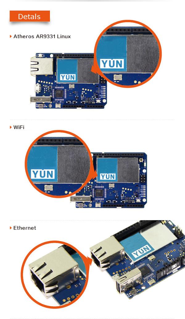 Arduino Compatible Yun Atmega32u4 Microcontroller Development Board