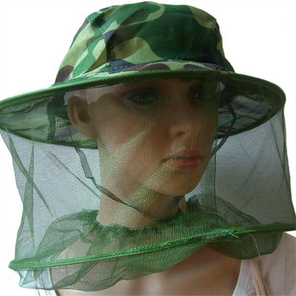 Mosquito Bug Insect Net Bee Mesh Head Face Fishing Hat Protector