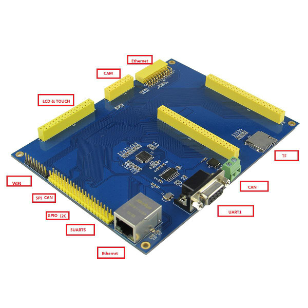 STM32F4Discovery SOM407-BB Expansion Board 3.2 Inch LCD SD Card CAN