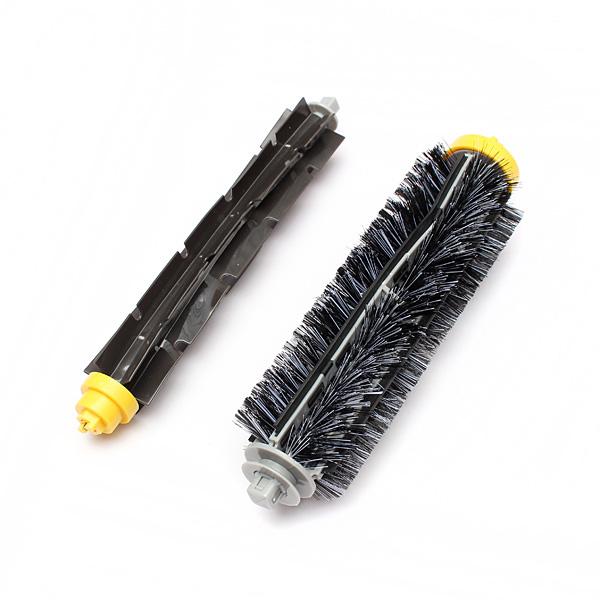 Bristle Brush Flexible Beater Brush For Irobot Roomba 600/700 Series