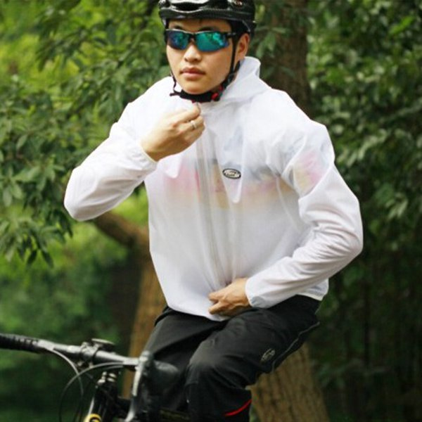 ROCKBROS Cycling Raincoat Windproof Ventilated Poncho Bicycle Rain Cape