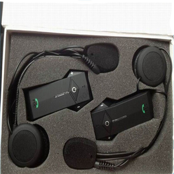 FDC-03B Motorcycle Helmet Headset Interphone with Bluetooth Function