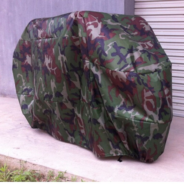 180t Camouflage Motorcycle Cover Waterproof Sunscreen