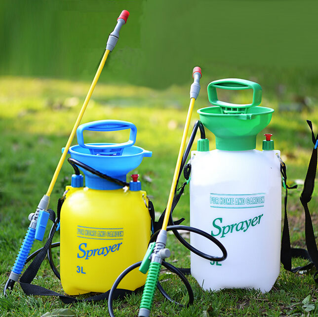 5L Garden Hand Pressure Backpack Sprayer Watering Can Pump Sprayer