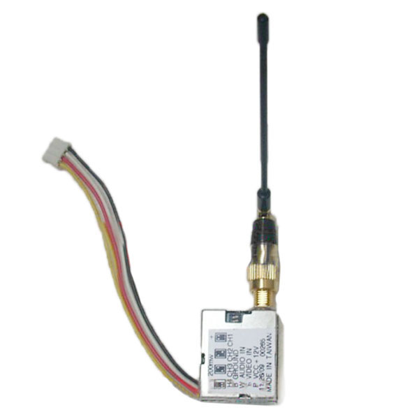 BT FPV 1.2G 4CH 200mW Mini Transmitter
