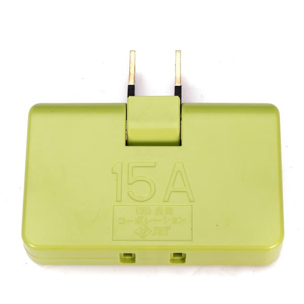 110-250V 180 Degree Rotatable Plug Adapter Travel Power 3 Supply Hub