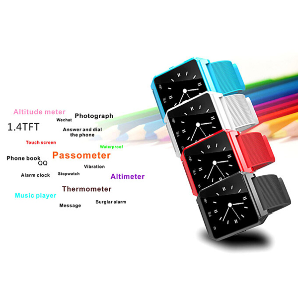 M28 Bluetooth SMS Reminding Passometer Anti Lost Men Phone Watch