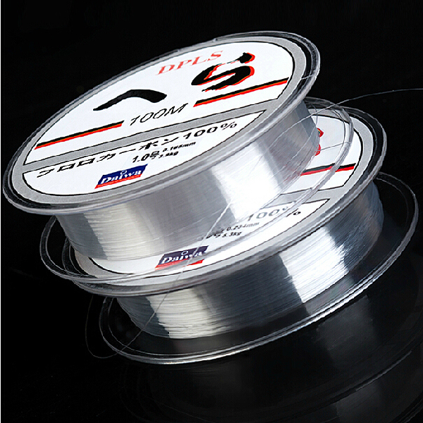 100m Daiwa Monofilament Clear Beading Thread Fishing Line