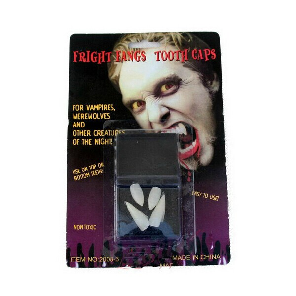 2 Set Halloween Decoration Vampire Tooth Horror False Teeth