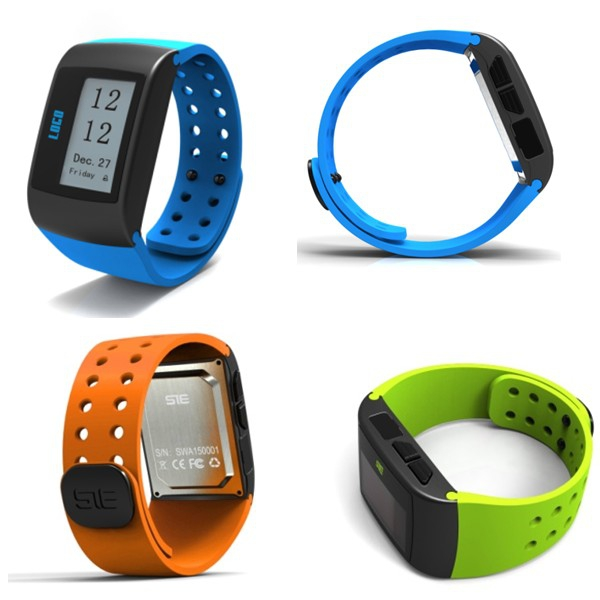 MU1 Activity and Sleep Tracker Sport Fitness Wristband Pedometer Watch