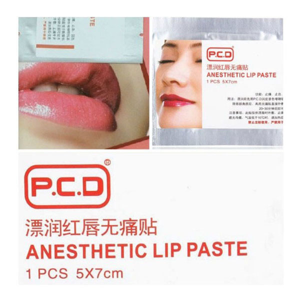 Lip Painless Relieving Paster Tattoo Anesthetic Supplies