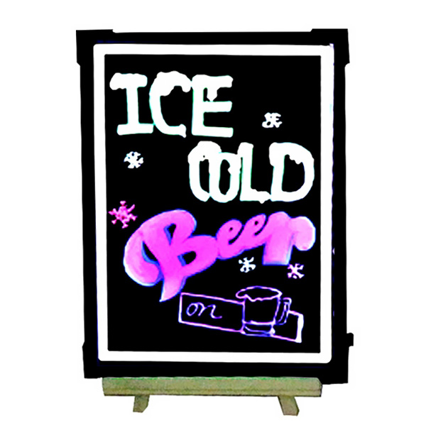 Remote Flashing LED Menu Board Menu Fluorescent Sign Message Dry Erase