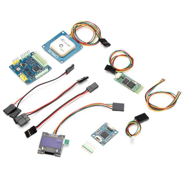 CRIUS MWC MultiWii SE V2.5 Control Board W/GPS NAV Module Combo