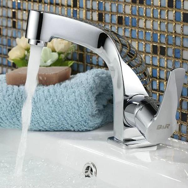 Brass Twist Unique Single Handle Basin Faucet