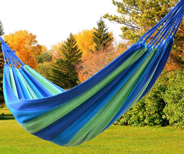 Canvas 200x80cm Hammock Tourism Camping Hunting Leisure Hammock