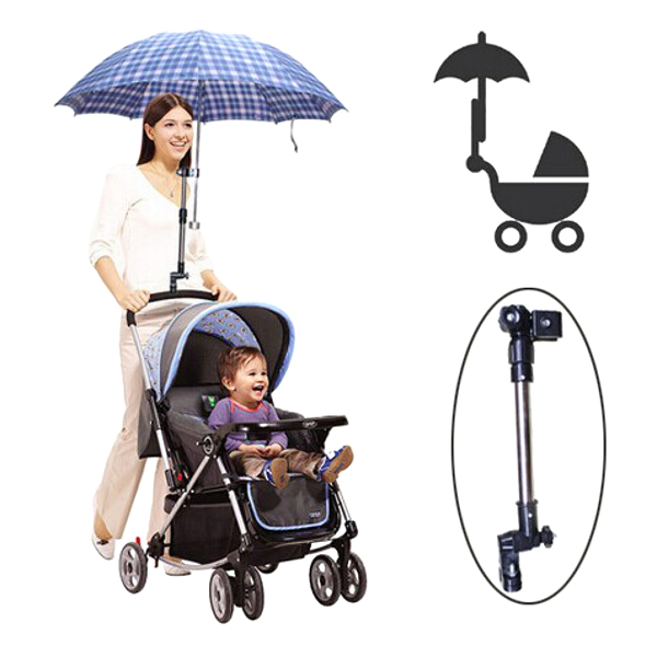 Baby Stroller Adjustable Umbrella Holder Parasol Bracket