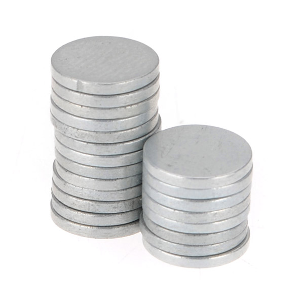 20Pcs N35 8mmx1mm Disc Rare Earth Neodymium Strong Magnets
