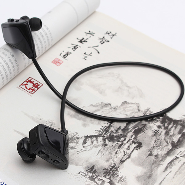 Waterproof Portable Mini Sport MP3 Music Player 4G USB Charging Headset Earphone