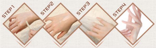 Milk Honey Hand Foot Wax Film 20MLSkin Whitening Exfoliating