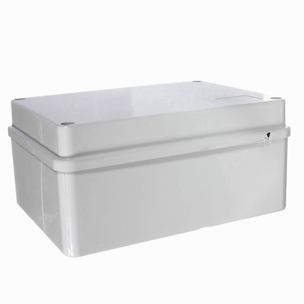 Waterproof Junction Box PVC Adaptable IP65 Outdoor Enclosure