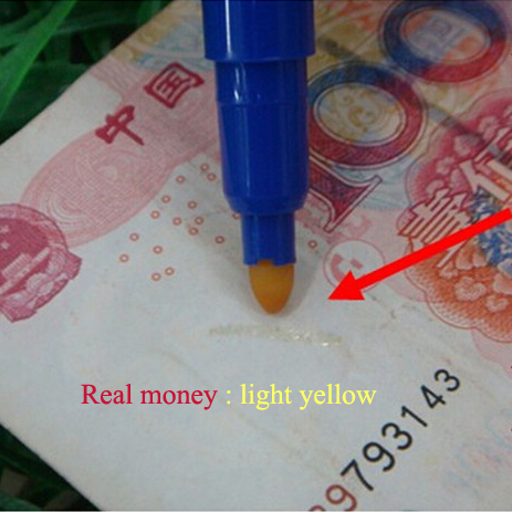 Money Checker Fake Banknote Detector Pen Counterfeit Currency Detector
