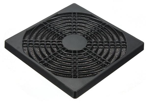 120mm Dust Proof Dust Filter for Computer Fan Black