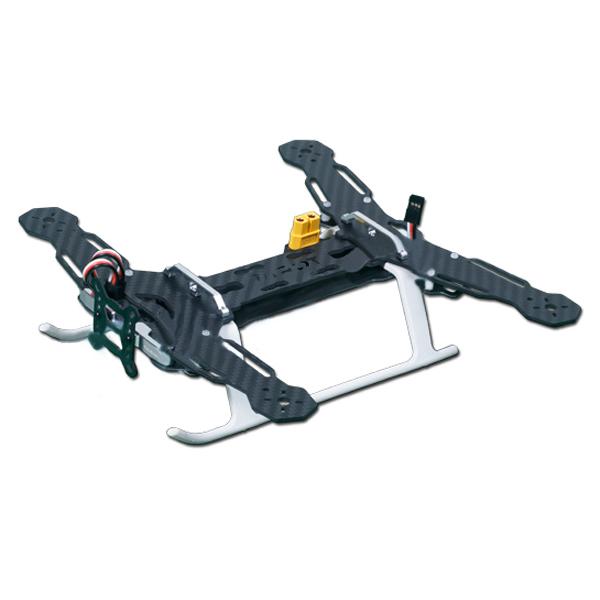 Tarot TL250A Mini 4-Axis Carbon Fiber Quadcopter Frame w/ PCB Board