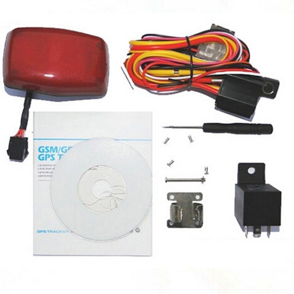 Motorcycle GPS Tracker Real Time Monitor Anti-theft Tracking System