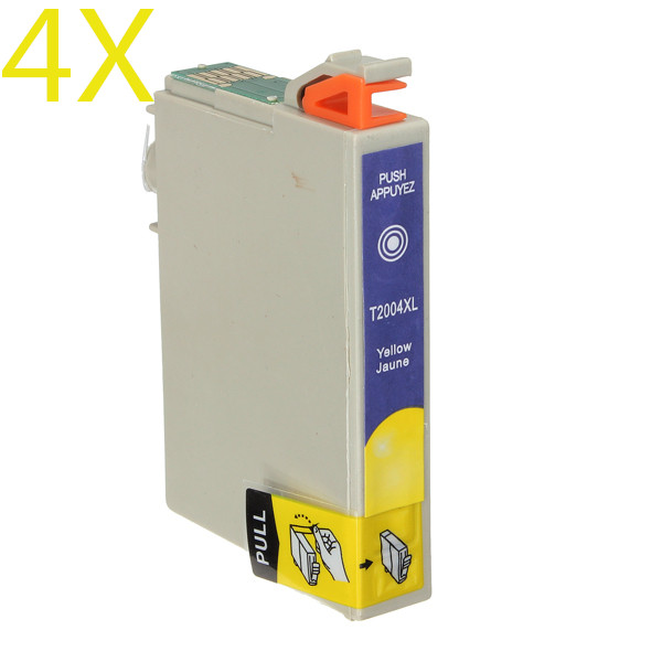 4 x T200XL YELLOW Ink Cartridge for Epson Expression XP 200 300 400